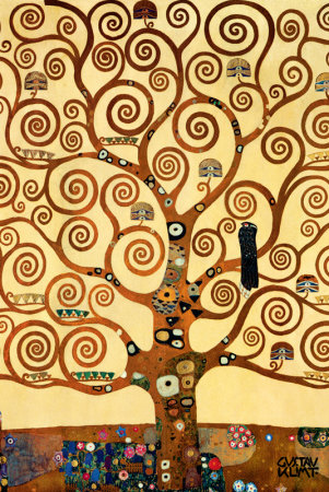 Quadro THE THREE OF LIFE KLIMT