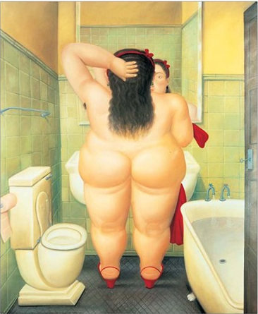 Quadro THE BATH BOTERO